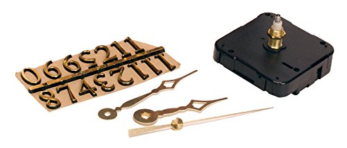 Clock Making Wood - Walnut Hollow 3 Piece Clock Kit 1/4-inch