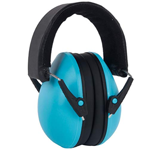 (Mayunn Infant Babys Sleep Learn Noise-Proof Windproof Earmuffs Headphone - Protect Your Ears, Foldable, Compact, Lightweight, Comfortable and Easy to Carry (Blue))