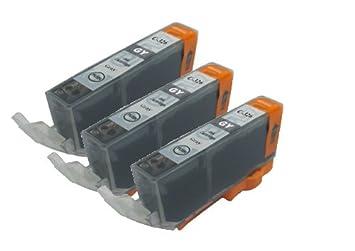 【クリックで詳細表示】【Ecolink】Canon キヤノン BCI-326GY グレー 単品3個セット ICチップ付き BCI-326+325/6MP 対応 互換インクカートリッジ