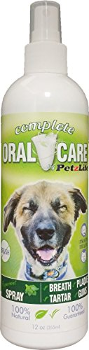 Complete Oral Care (PetzLife Peppermint Oral Care Spray, 12-Ounce)