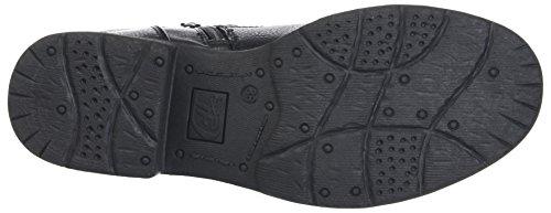 Tom Tailor Damen 3795602 Stivali Da Motociclista Noir (nero)