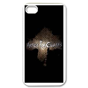 Alice In Chains For iPhone 4,4S Csae protection phone Case FX266871