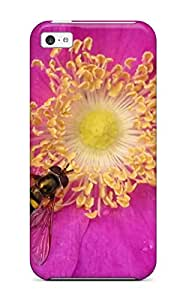 New Arrival Cover Case With Nice Design For Iphone 5c- Bee Pic