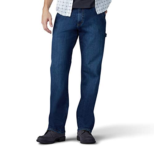 LEE Men's Performance Series Extreme Motion Loose Fit Carpenter Jean, gus, 36W x 30L