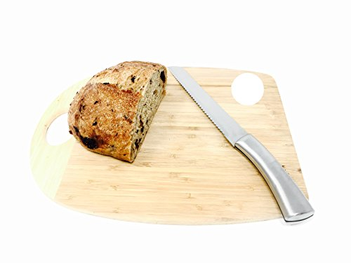 "Mainstays 8-inch Stainless Steel Bread Knife (Stainless Steel Handle) 2 This bread knife has a 8"" blade. This knife has a beautiful stainless steel handle."