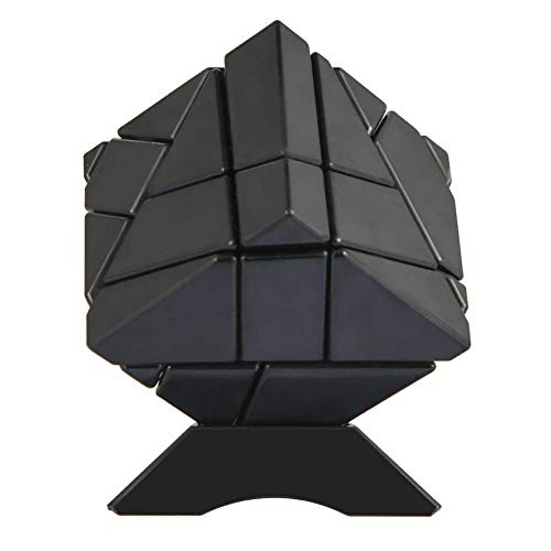 Gold Accord (Geefia Magic Puzzle Ghost Cube, 3x3 Irregular Abnormity Splicing Intelligence Toys Smooth and Fast Play with 1 Cube Bottom Stand to Display,(1 Gold Sticker,1 Silver Sticker))