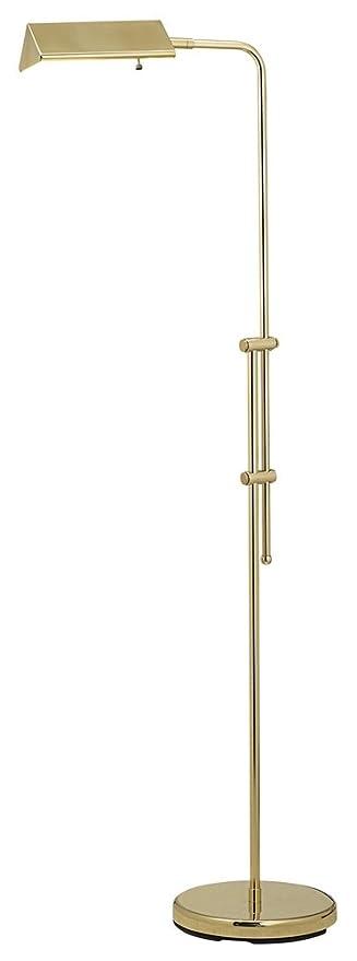 Amazon brass finish pharmacy floor lamp office products brass finish pharmacy floor lamp aloadofball Gallery