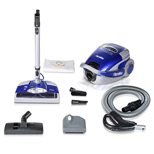 Prolux TerraVac Deluxe Series Cainster Vacuum Cleaner with HEPA Filtration … -