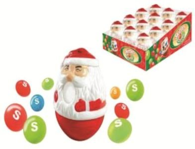 Skittles Santa Twist N' Pour - 1 Santa