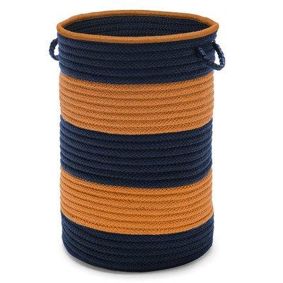 Color Block Hampers No Lid Hampers, Navy/Orange by Color Block Hampers