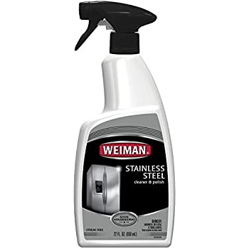 Amazon Com Weiman Stainless Steel Cleaner And Polish