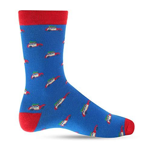 Christmas Dress Socks For Men Crazy Socks For Mens: Mens Funny, Cool, Funky, Family Vacation