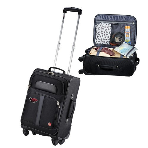 Saint Joseph Wenger 4 Wheeled Spinner Carry On Luggage 'Primary Mark' by CollegeFanGear