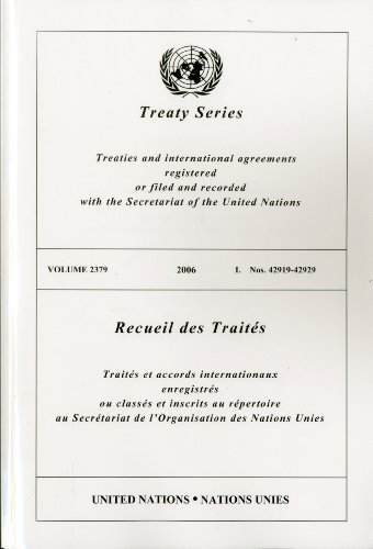 Treaty Series 2379 I (Multilingual Edition)