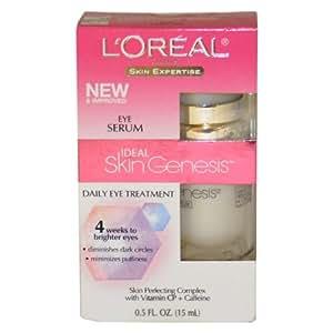 Skin Genesis Daily Eye Treatment Eye Serum Women Treatment by L'Oreal, 0.5 Ounce