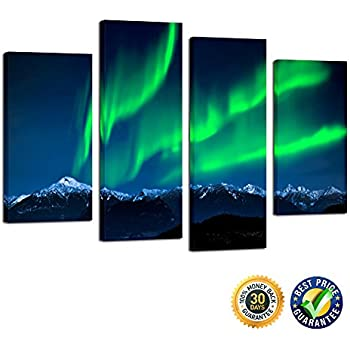 amazon com 5 pieces modern canvas painting wall art the picture for