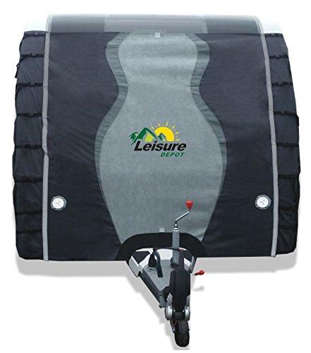 Leisure Depot Premium Caravan Towing Cover 2.5m Universal Fit Protector
