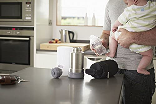 Closer To Nature Portable Travel Baby Bottle Warmer Multi Function BPA Free