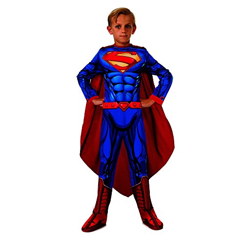 Rubies DC Universe Superman Costume, Child Small (Man Of Steel Costume For Kids)