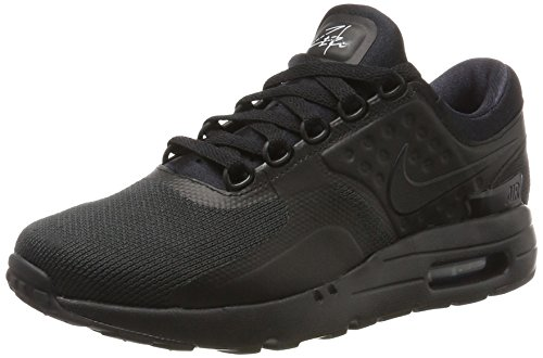 Nike Mens Air Max Zero Essential Black/Black/Black Running Shoe 10 Men US