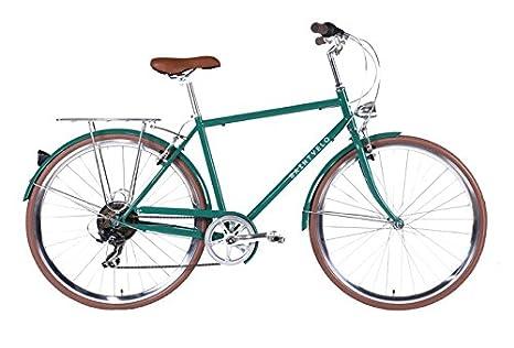 Saintveló Cycles Biagio V7 - Bicicleta paseo para hombre de 7 velocidades, cuadro de acero