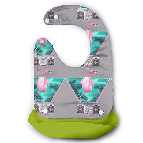 Price comparison product image Flamingo Waterproof Baby Bibs