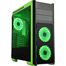 Gaming Computer Desktop PC AMD Quad Processor, 8GB RAM, SSD, GTX GPU, Windows 10, Wifi