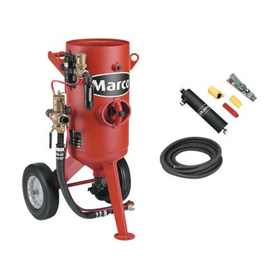 - Marco 3.0 Cu. Ft. Abrasive Blaster - Model# 10POTPACKAGE3NT1