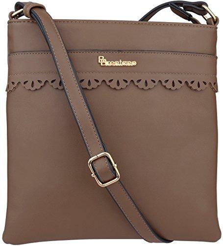 BRENTANO Vegan Medium Crossbody Handbag