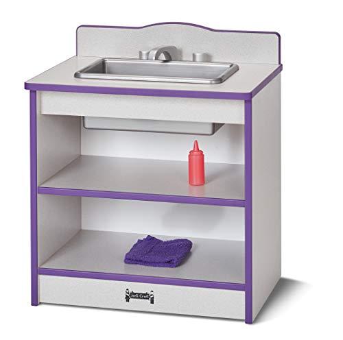 Rainbow Accents 2428JCWW003 Toddler Kitchen Sink - Blue