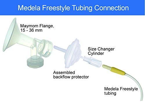 Maymom tube set pour medela freestyle pompe