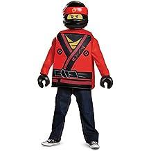 Kai LEGO Ninjago Movie Classic Costume, Red, Small (4-6)