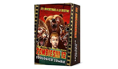 Asmodee–Zombies. 12, Zoo Zombie (Edge Entertainment edgtc12)