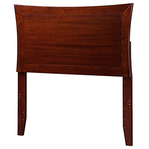 Atlantic Furniture 44.25 in. Twin Headboard in Walnut Finish by Atlantic Furniture