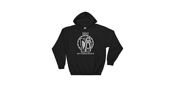 Nordic Gods Goddesses /& Bragi Unisex Hooded Sweatshirt Amazingly Good Products Norse Mythology Gift