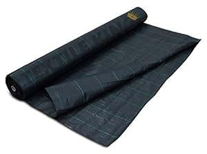 zebel 4,5m x 100m, 100g/m² Geotextil Weed Control suelo bedeckung plástico Membrana rollo libre Botones