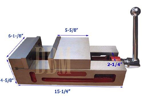 6'' Super-Lock Precision Vise CNC .0004'' NC/CNC MILLING Machine Vice Clamps