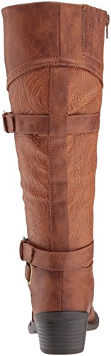 Embossed Tan Women's Harness Easy Kelsa Street Boot SwxRq0YpX