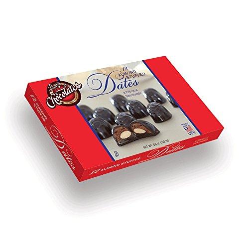 Boxes Almond Stuffed Dates Chocolate product image