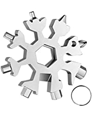 20 in 1 Snowflake Multi-Tool,Great Christmas Stocking Stuffer,Unique Gifts for Dad Men Women