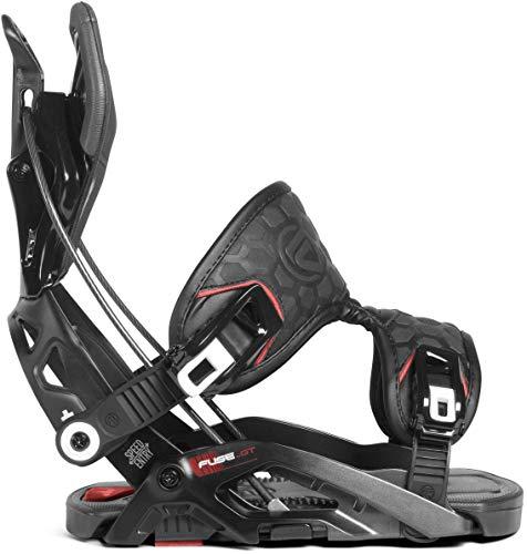 Flow 2019 Fuse GT Mens Black Large Snowboard Bindings