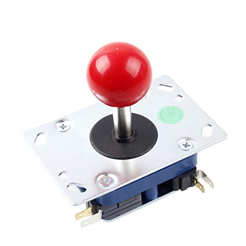 Seimitsu LS - 32 Red 2 - 4 - 8 Way Stick For Arcade Video Games Machine TE Mad Catz Street Fighter Joystick DIY Kit Parts Mame Jamma