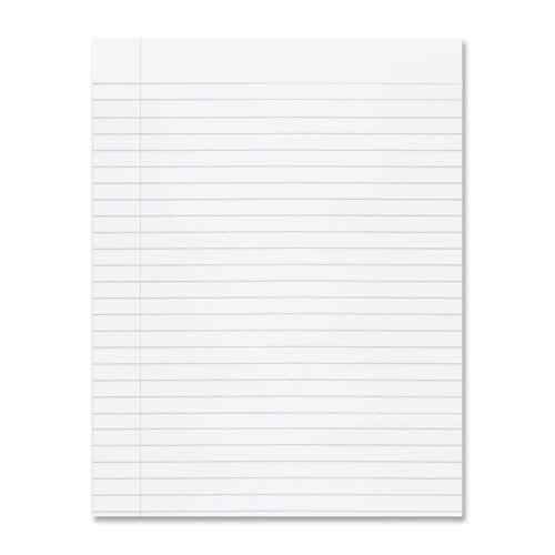 Wholesale CASE of 25 REAMS Each Ream have 25 SHEETS - Pacon Composition Paper-Composition Ppr,3/8'' Rule,Unpunched,8-1/2''x11'',WE by PAC