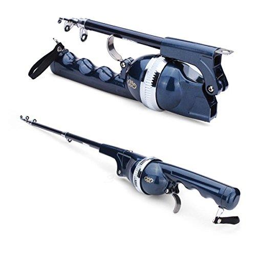 Folding Telescopic Sea Rods Suit Portable Fishing Poles