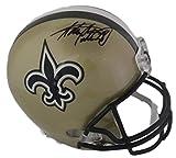 Adrian Peterson Autographed New Orleans Saints Full Size Replica Helmet FAN