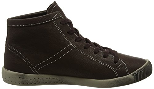 Softinos Isleen Smooth, Baskets Femme, Green Brown (Dk Brown)