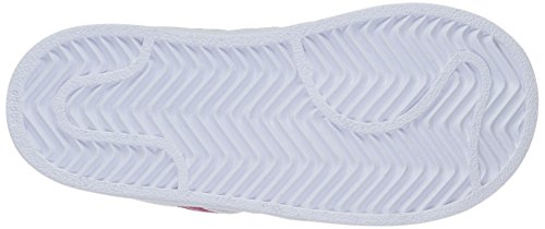 Sneaker Superstar Adidas Originali Per Bambini (bimbo / Bimbo / Bambino / Neonato) Bianco / Grassetto Rosa / Bianco