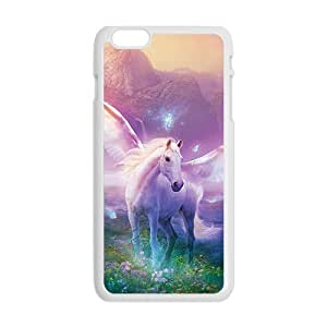 Angel abstract white horse Case for Iphone 6