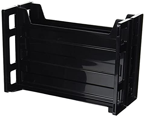 Business Source Combo 2-Tray Vertical Organizer (62882)