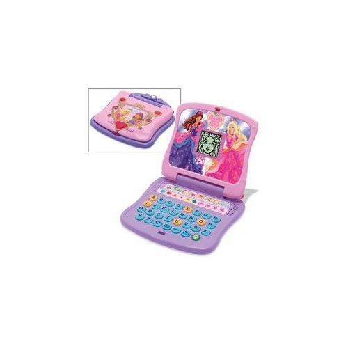 Oregon Scientific Barbie Diamond Princess Learning Laptop - No Box